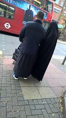 East London Muslimah (Aisha Niqabi) Tags: hijab niqab abaya