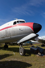 N1377K-PAFA-040815-1280 (Alex-Spot This!) Tags: alaska fairbanks dc6 c118 evertsaircargo