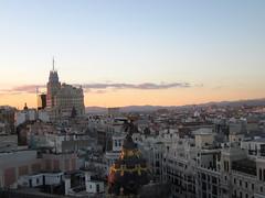 Madrid sunset (enolarama) Tags: madrid crculodebellasartes