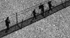 walking the bridge [EXPLORE 2015-11-28] (pix-4-2-day) Tags: walking gehen menschen people bridge shadow stones scree talus geröll schatten brücke diagonal hang switzerland schweiz hängebrücke pix42day explore explored