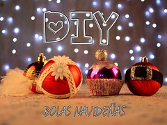 DIY: bolas navideas (Oscuridad Magica) Tags: christmas navidad diy blog handmade craft blogger bolas youtube hechoamano adornosnavideos manualidad youtuber