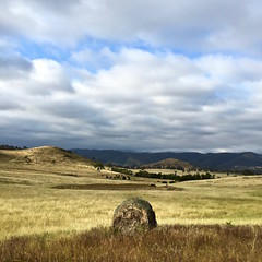 'Summer In Australia' - December, 2015 (aus.photo) Tags: summer sky rock clouds landscape australia boulder canberra range act bullen brindabella ausphoto