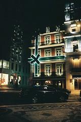 City at night (joaoramos32) Tags: canon 500n rebelg 2880mm fujifilm fujicolor c200 pushed 400 night lisboa lisbon christmas