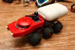 tanker - 2013 (legoalbert) Tags: lego tanker truck turret carrier space scifi cyberpunk