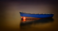 Lake Noir (Nickerzzzzz - Thanks for stopping by :)) Tags: ©nickudy nickerzzzzz theartofphotography canoneos70d ef100400mmf4556lisiiusm photograph photography boat minimalist lake noir water bouy outdoor horror film