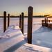 winter pair-o-docks