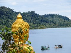 Buddha looking over the bay - Thailand (ashabot) Tags: