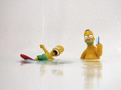 Bart & Homer (Andy 1999) Tags: bartsimpson bath homersimpson nyemyln water