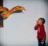 Oh My God !! (pkk_84) Tags: expression click art museum cute scared shocked kid girl fear snake 3d face