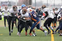 4D3A3038 (marcwalter1501) Tags: minotaure tigres strasbourg footballaméricain football sportdéquipe sport exterieur match nancy