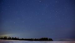 Outdoor with the stars (Danny VB) Tags: étoiles etoiles hike hiking dannyboy gaspesie quebec canada canon eos 6d star stars sky landsape christmas noel navidad ef50mmf18ii canonefef50mmf18ii