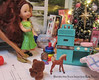 I did some more photos with some scenes of the kids and their toys. (wpnschick) Tags: barbiekitchen barbiechristmastree barbiechristmas holidayminiature miniatureholiday barbie diorama 16thscale playscale miniaturetoys barbietoy fisherpricetoyornament