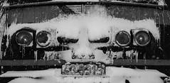 Winter exploitation (mzah1116) Tags: 43531 winter snow train bdz cargo blackandwhite freezing temperatures cold