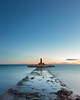 Follow the Path (Villajoyosa, Spain 2014) (Alex Stoen) Tags: 1dx alexstoen alexstoenphotography canon canoneos1dx crepusculo largaexposicion lighthouse longexposure mar sea sunset villajoyosa spain