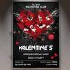 Valentines – Premium Flyer PSD Template (psdmarket) Tags: 14feb elegant love romantic valentine valentineparty valentines valentinesday valentinesdayflyer valentinesdayparty valentinesflyer valentinesparty