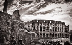 Memories like dreams (paolahiguera) Tags: memories mobilephotography iphoneography iphone bw architecture rome italy europe