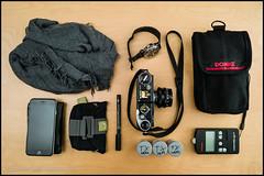 whats in my bag (teknopunk.com) Tags: photography p camerabodytag 35f25summaritssn4095990 w leicas2sn3800017 35mmlens nikonsp2005sn0274 sf58 productphotography f gear flash nikonsb900 whatsinmybag
