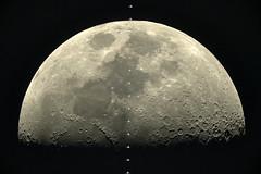 Home from home (europeanspaceagency) Tags: esa humanspaceflight imageoftheweek internationalspacestation moon lunar transit rouen france thomaspesquet proxima thierrylegault astrophotography