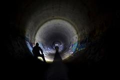 Lighting up the Underworlds... (JAZ-art) Tags: jazart led lenser storm water drain drains draining urban urbex melbourne underground burp explore australia