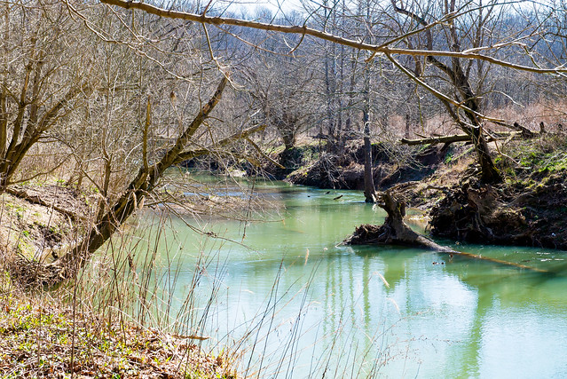 Hoosier National Forest - Little Blue River - Otter Creek Riparian Restoration - March 10, 2017