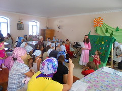 7. Children's morning performance dedicated to the Dormition of the Theotokos / Детский утренник, посвящённый празднику Успения Пресвятой Богородицы