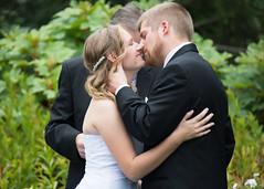 My First Wedding - Cayla-Ian Wedding - First Kiss (Michigan Transplant) Tags: wedding kiss firstkiss 18300mm nikond7100