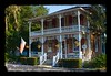 The Cottage Gift Shop (H2OJunkie) Tags: building architecture canon artistic florida historic adobe longwood stylized topaz canon40d photoshopelements7 ononeframes gwphotography canon28mmf18efusm cottagegiftshop