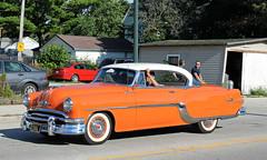 1954 Pontiac Star Chief Catalina (SPV Automotive) Tags: orange classic car star catalina chief 1954 pontiac coupe
