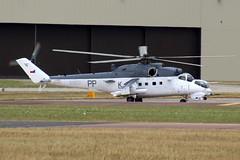 Mil Mi-35 Czech Air Force 3370 (NTG's pictures) Tags: force czech air gloucestershire raf mil fairford riat 2015 3370 mi35 coastalcommand consolidatedb24liberatorpb4yprivateerrafev953kpp311thbs311thczechsqn