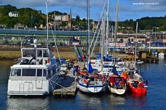 (Zak355) Tags: bridge marina boats scotland harbour yachts pontoons berth bute rothesay isleofbute