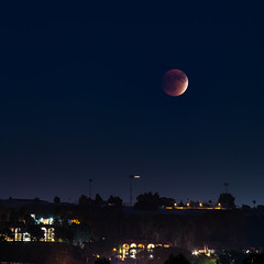 blood moon (Chimay Bleue) Tags: moon lune eclipse blood san diego lunar
