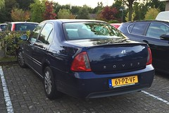 Rover 45 Sedan (peterolthof) Tags: rover 45 rover45 sidecode6 61pzvf