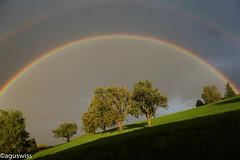 Rainbow - under the dome (aguswiss1) Tags: rainbowunderthedome rainbow nature view rain sunshine sun light under dome marculescueugendreamsoflightportal sonyflickraward autofocus