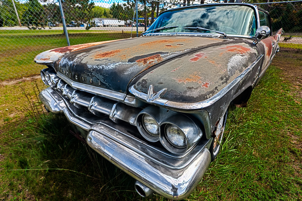Rusty 59 Imperial at Spencer's Auto Salv by hz536n/George Thomas, on Flickr