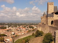 We Are In Carcassone! (appaIoosa) Tags: medieval aude carcassone catharcastle languedocroussillon châteaucomtal citédecarcassonne regionlanguedocroussillon backroadstouring départementaude ©appaloosa backroadstouringcompany tourpinte ©appaloosaallrightsreserved