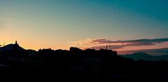 Sky at Naples (DalbiTV) Tags: blue red sky mountain green canon landscape photo day cityscape photos tag naples 24105 mountais 40d