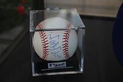 Hong-Chih Kuo Signed Commemorative Baseball (Chi-Hung Lin) Tags: city baseball taiwan taipei     mlb    2015