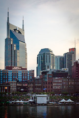 Nashville (Erik Lykins) Tags: city travel urban usa building tower tourism water skyline architecture america skyscraper buildings river outdoors photography downtown day cityscape skyscrapers tn nashville outdoor tennessee unitedstatesofamerica sightseeing scenic cities tourist american northamerica destination riverfront metropolitan attraction cumberlandriver musiccity travelphotography 2013 traveldestination downtowndistrict d7000 nashville0818
