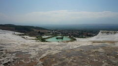 - Turkey Pamukkale (Vladimir Kiryanov) Tags: trip travel summer vacation sky nature beautiful stone turkey landscape amazing ancient stones lifestyle bluesky pamukkale