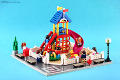 Playground (kosbrick) Tags: city building playground lego contest modular mbk moc
