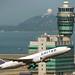United Boeing 777-200ER departing HKG (N69020)
