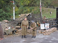 Home Guard HQ (mike_j's photos) Tags: people army costume nikon war weekend 1940s hq reenactment goathland grosmont northyorkshiremoors homeguard p530