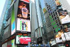 The Big Apple (aka Jon Spence) Tags: nyc newyorkcity newyork advertising manhattan billboard midtown timessquare advert