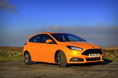 (andrewlee1967) Tags: ford car st f2 ef35mmf2 saddleworthmoor focusst andrewlee1967 canon50d tangerinescream