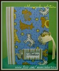 Porta-Documentos - Tema Safari (Manezinha Arteira) Tags: artesanato safari tecido portadocumentos artegemeas manezinhaarteira