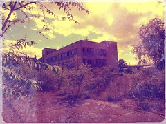Abandoned building in France (freddylyon69) Tags: france buildings souvenirs construction ruins creative usine workingplace pixrl