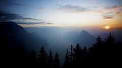 Sunset // Backlit (Giuseppe Della Greca) Tags: sunset lake lugano challengegamewinner friendlychallenges
