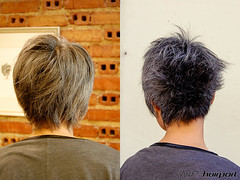 Silver Before & After (wip-hairport) Tags: original haircut color portugal fashion silver hair artist cut lisboa lisbon creative style wip before professional hairdresser salon after shape newlook inspire hairstyle alternative personalized haircolor stylist hairport hairlove wiphairport