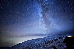 DSC_01572 (AndreasHvidsten) Tags: winter mountain snow cold night stars star cabin nikon astro galaxy astrophotography milkyway samyang d5500