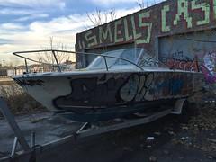 IMG_5480 (Hypurban) Tags: nyc newyork abandoned brooklyn graffiti head warehouse wax smells abandonedwarehouse brooklyngraffiti waxhead graffitiyard cash4